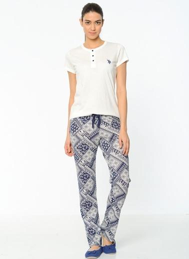 3'Lü Pijama Takım U.S Polo Assn.